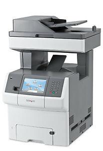 Lexmark X734de printer