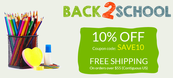 Back to school sale - 10 percent off all ink and toner cartridges